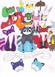 Stupid Fox In Wonderland by Malice-Ghoststar
