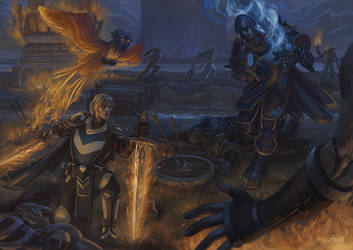 Commission- Konrad and Ballador by nozomi-M
