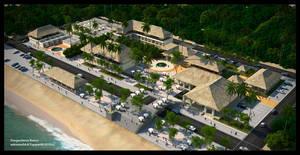 pangandaran resort by lightningsaga
