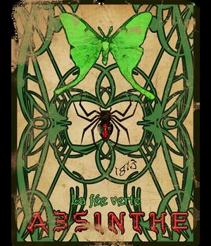 Absinthe Poster by Saint-Romain