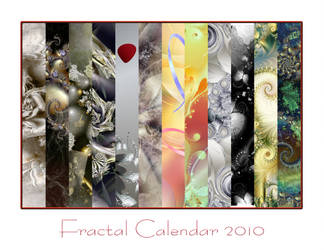 Fractal Calendar 2010 by ersi