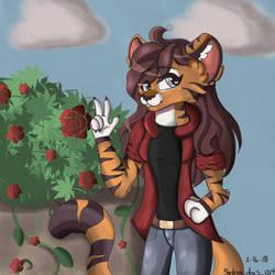 Tiger furry by XxCocoTheTigerxX