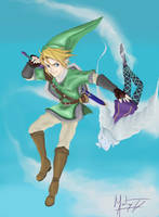 Skyward Sword by Nyctale
