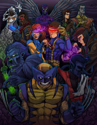 X-MEN! by JeffyP