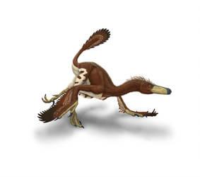 Velociraptor in Hot Pursuit by ScottHartman