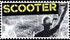 Scooter Stamp by GoldenTigerDragon