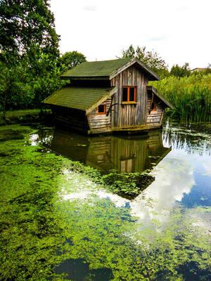 Little House on the lake by FabienBertham