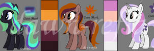 MLP Adoptables Set Price (2/3 Open) by dawn-refia
