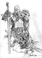 Pencil warrior by SimoneDelladio