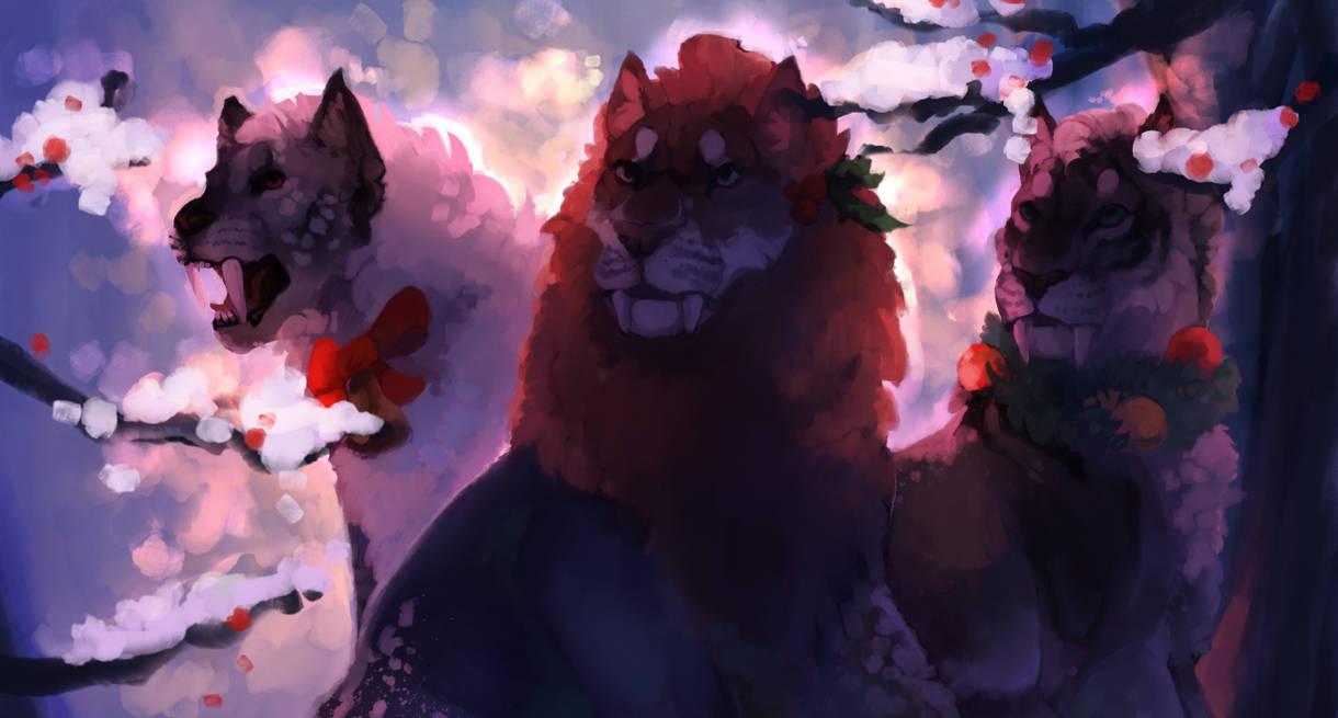 Winter Fire by Nemenos