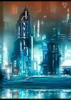 The future city (by ilya Tyljakov) by RaZuMinc