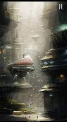 The China City by RaZuMinc