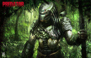 Predator concept art by RaZuMinc