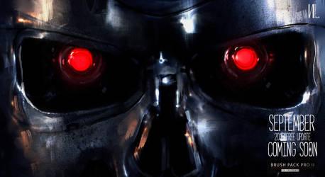 Terminator keyframe 2 ipad Procreate by RaZuMinc