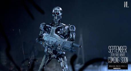 Terminator keyframe 3 ipad Procreate by RaZuMinc