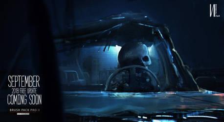 Terminator keyframe 5 ipad Procreate by RaZuMinc