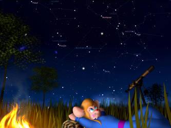Millions of stars by Furroman80