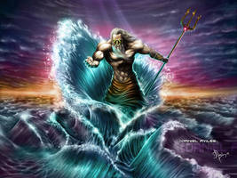 Poseidon by artmus