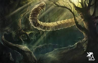 Beast Swamp by artmus