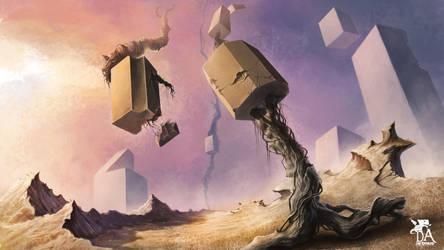Digital surrealism by artmus