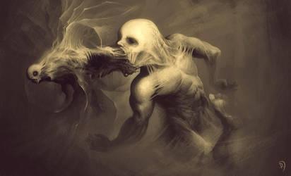 Espiritu demoniaco by artmus