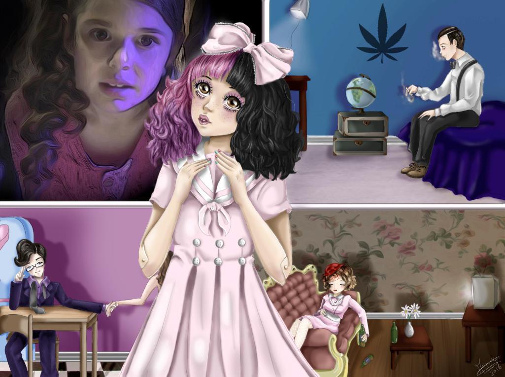 Fanart Dollhouse Melanie Martinez By Maria Sl On Deviantart