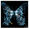 Fringe Glyph: Butterfly by lzsays