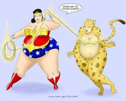 BBWW Big Beautiful Wonder Woman by nongravity