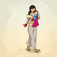 Superman's mum by nongravity