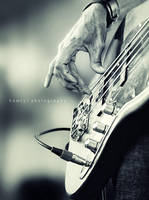 Playing Bass by hamry-wabula