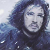 Jon Snow // Kit Harington by sheeyka