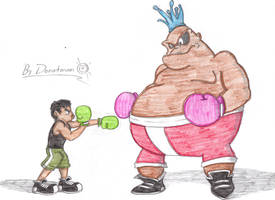 AT: Little Mac vs King Hippo by MrDonutman