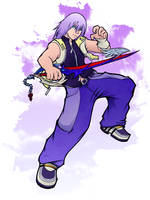 Riku - Kingdom Hearts 2 by Outering