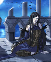Shanoa - Castlevania Order of Ecclesia(commission) by Danfer3