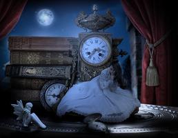 Borrowing time by KellieArt