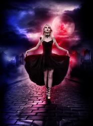 Blood moon by KellieArt