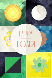 Happy Ugadi by techngame
