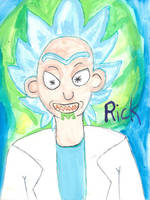Rick - guess who is trying to learn to watercolor by Cians-Sacred-Lair