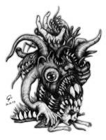 Monster No.2 : Slug of Death by atati23