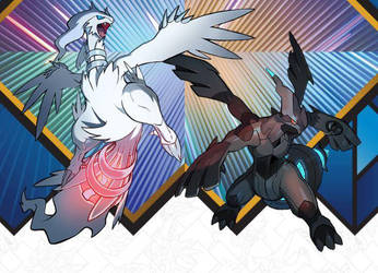 1001 Video Game Songs: Vs. Reshiram/Zekrom by DragonKnight92