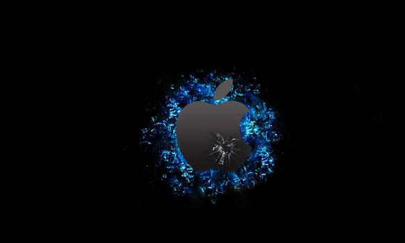 apple speed art wallpaper by elrico665