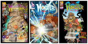 Monster covers by SURFACEART