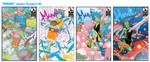 MANDI covers 1-4 by SURFACEART
