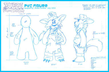 FIGURE DESIGN: BUBBA the Redneck Werewolf by SURFACEART
