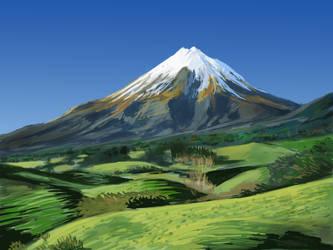 Mountain by PolkaDotedFlower