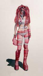 pink cosplay by coffeeChihuahua