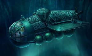 SubMarine Hidden Underworld :F by lahabz