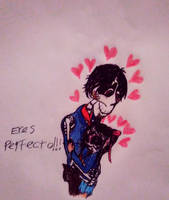 Eres perfecto corazones by adelita03