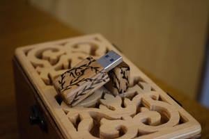 Wooden USB by matcheslv