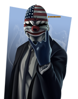 Payday 2 - Dallas by thelabeltranslator